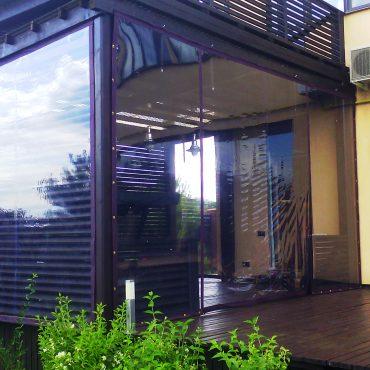 Збільшення площі для прийому гостей - М'які вікна Одеса